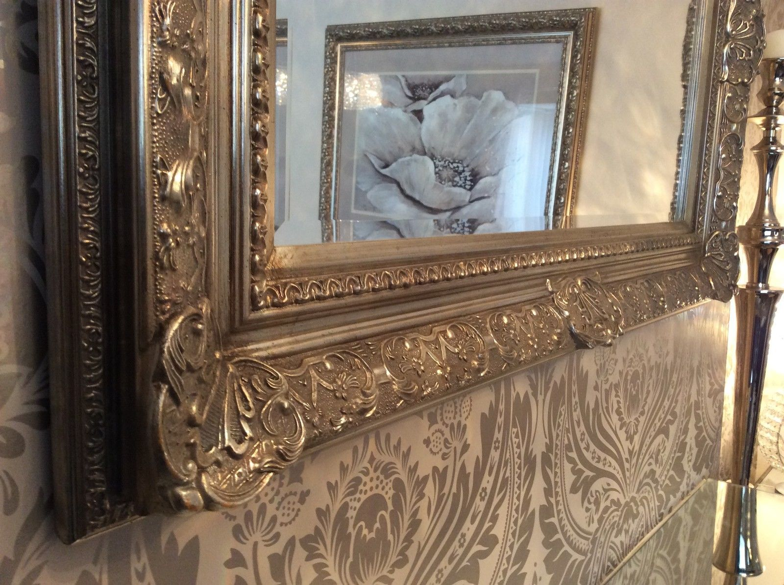 Decorative Antique Silver Wall Mirror Full Range Of